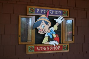 Pinocchio's Workshop Disney's Grand Californian Hotel