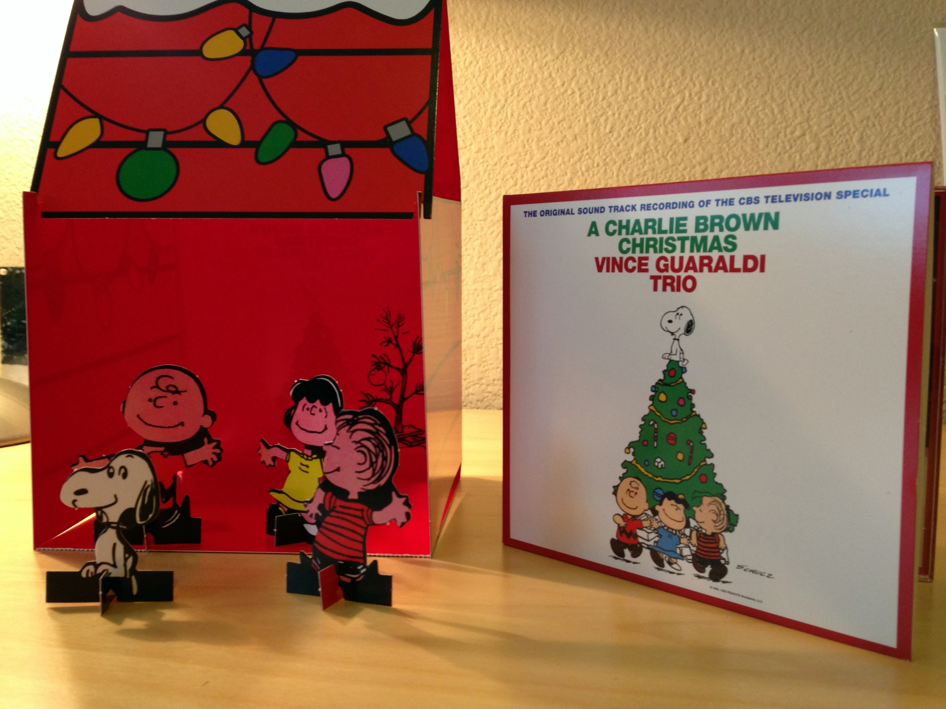 Snoopy doghouse edition of a charlie brown christmas soundtrack