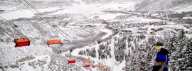 Canyons Resort Park City Utah Orange Bubble