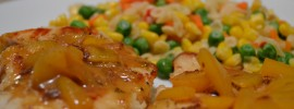 Quick and Healthy Orange Mango Chicken Recipe