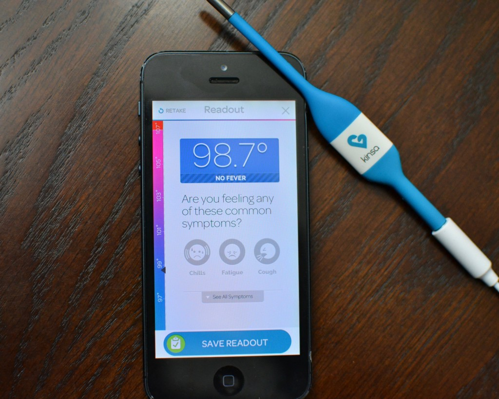 Kinsa Smart Thermometer is a High Tech Way to Care for Your Family's Health
