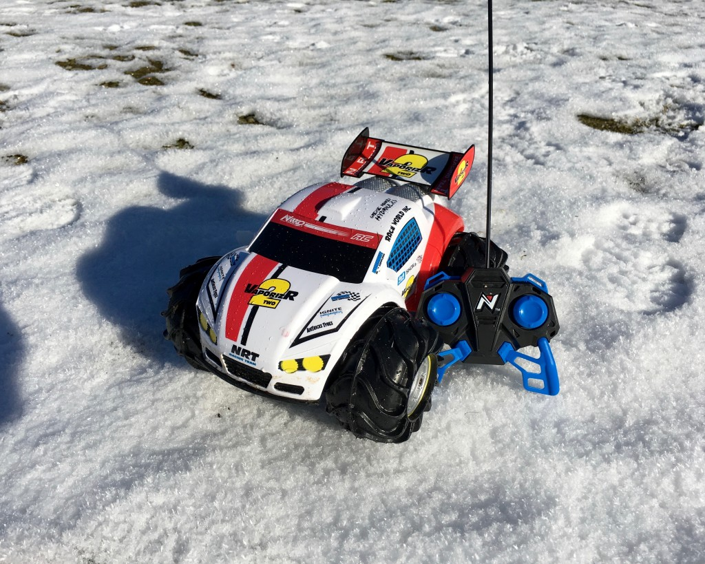 Toy State Nikko VaporizR 2 is an RC Car that Drives Through Snow, Ice, and Water