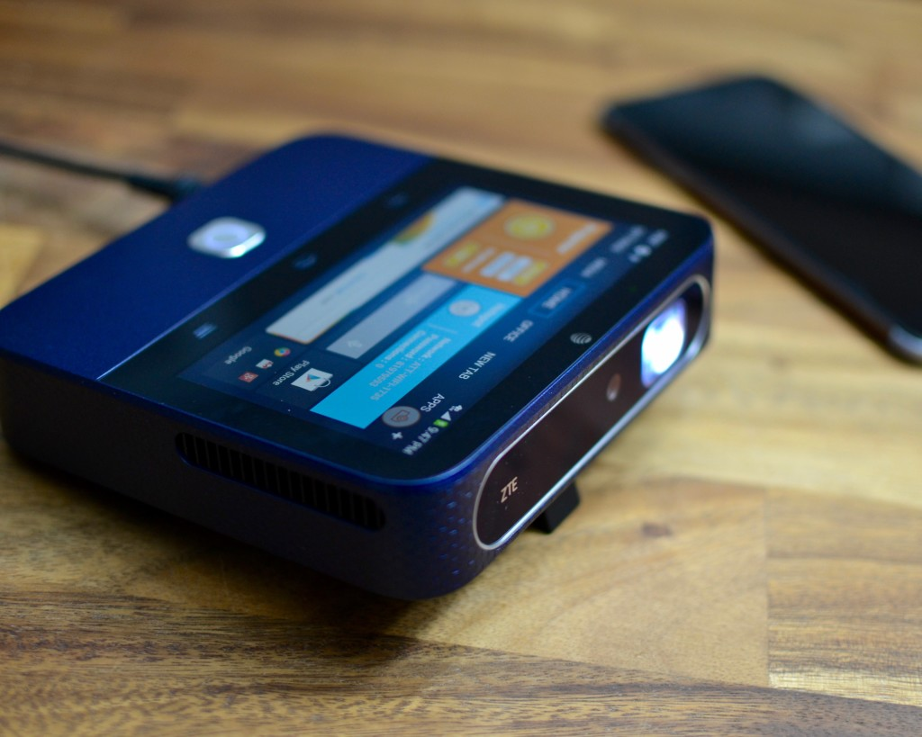 Travel Essentials: ZTE Spro 2 Smart Projector from AT&T
