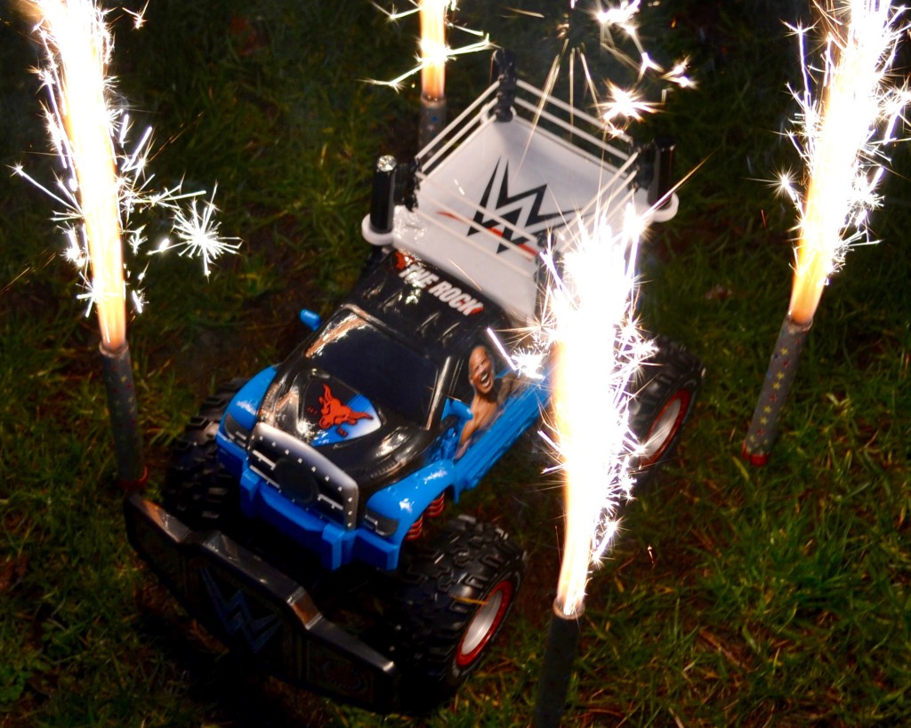 WWE Rolling Ring Monster Trucks from Toy State can Take the Action Anywhere