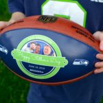 Looking for a special gift for Father's Day? Create a Custom NFL Football with Wilson Sporting Goods