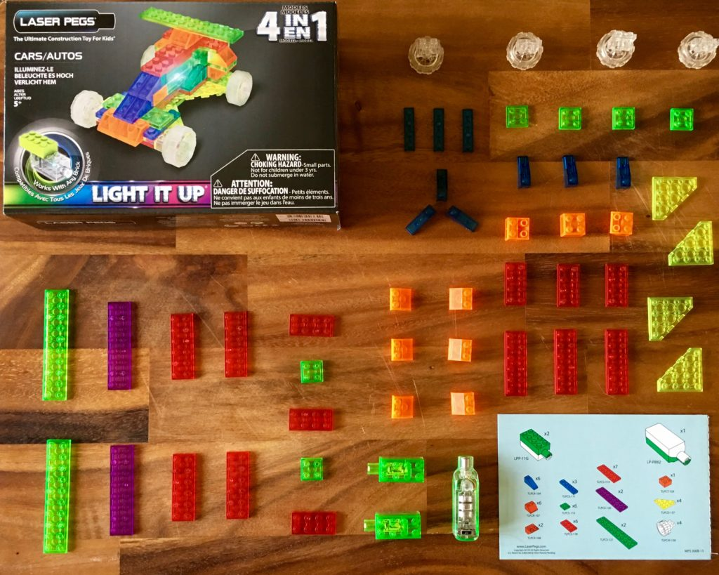 Light Up Your Child's Imagination with Laser Pegs