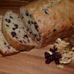 Cranberry Bread with Raisins and Walnuts