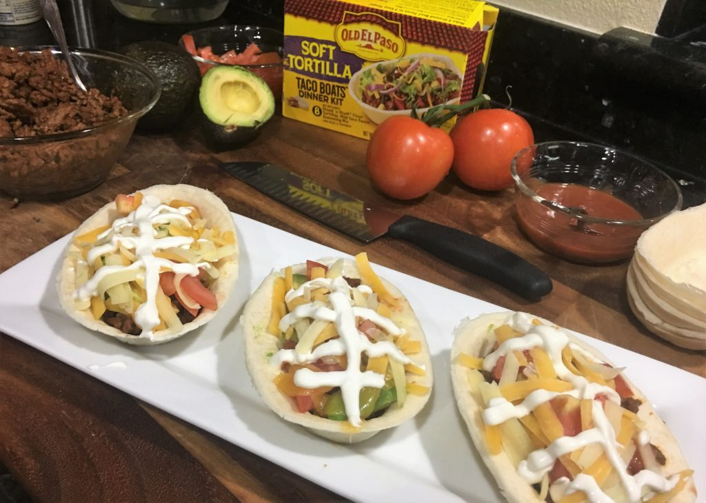 Celebrate the Big Game in Style with Old El Paso Football Tacos