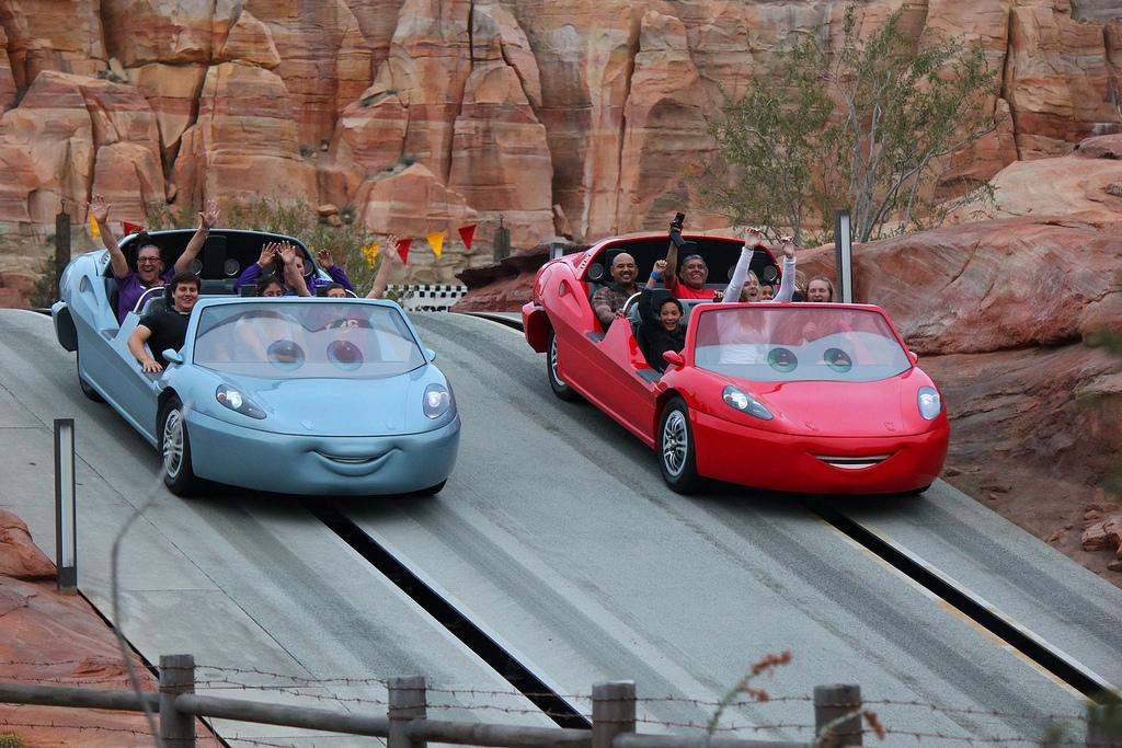Radiator Springs Racers At Cars Land Sneak Preview Dad Logic