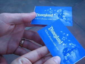 Buy Disneyland tickets with your phone