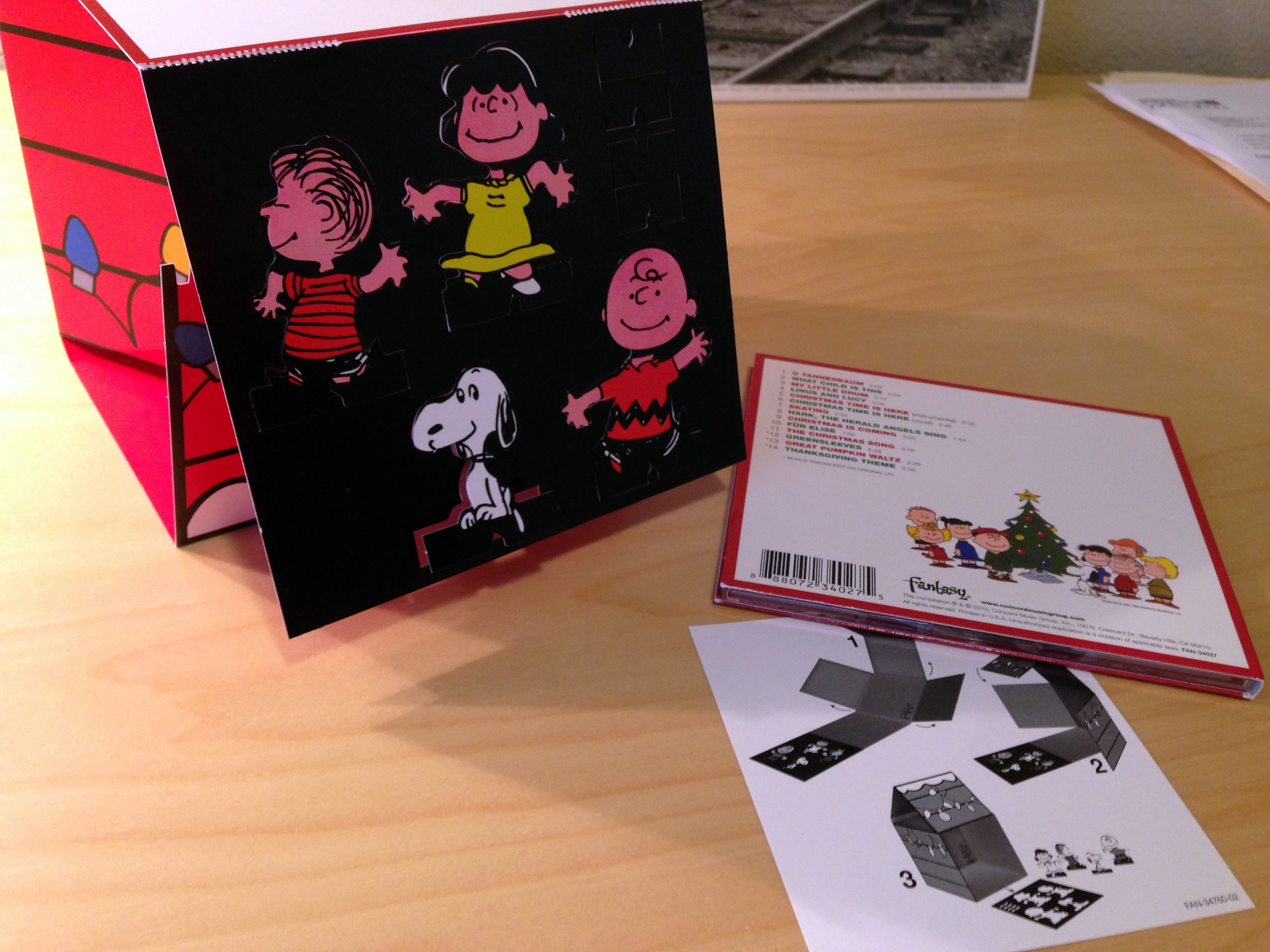 Charlie Brown Christmas Soundtrack.Check Out The Snoopy Doghouse Edition Of A Charlie Brown