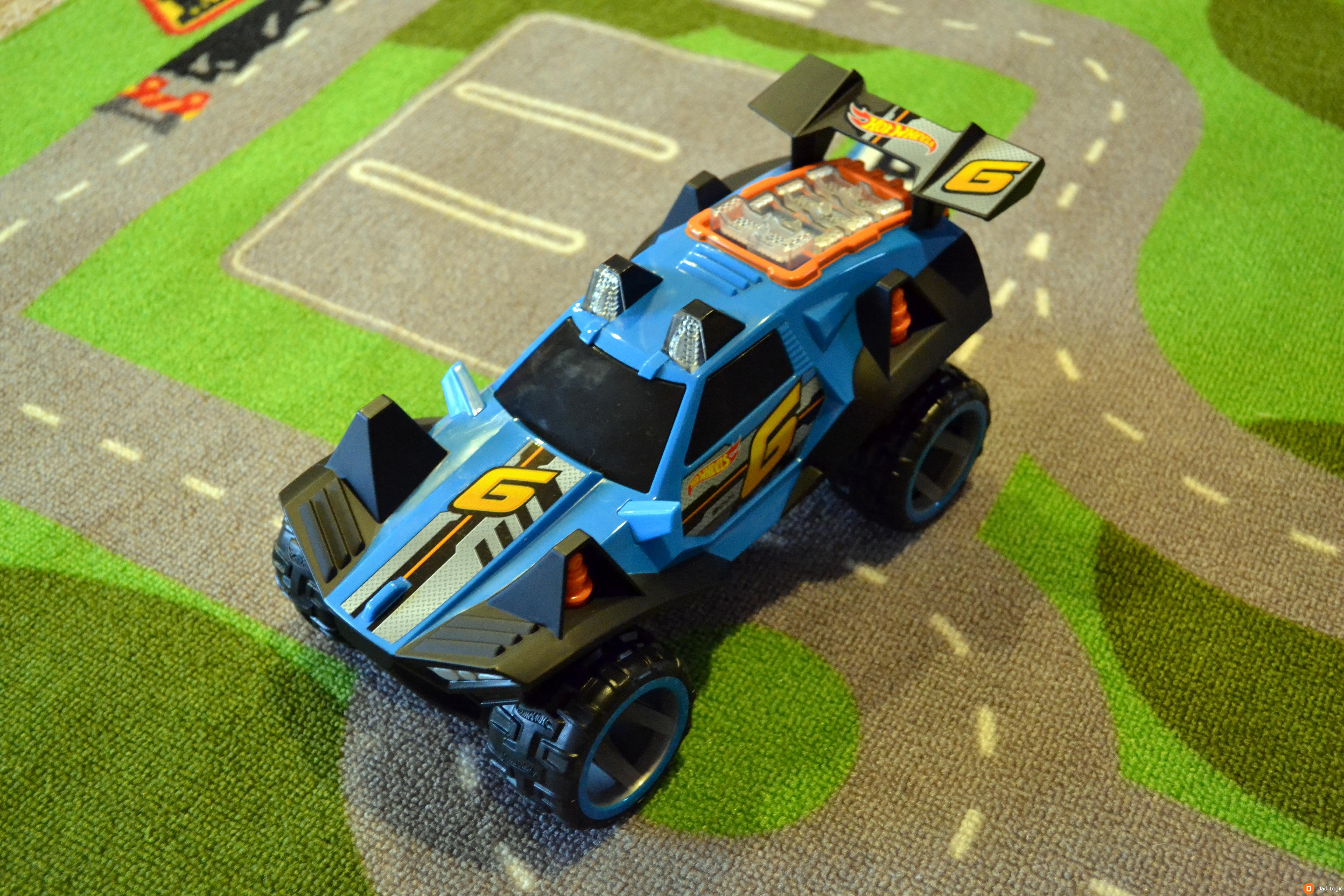 Get Ready For High Octane Fun With The Toy State Hot Wheels Engine Power R C Car Dad Logic