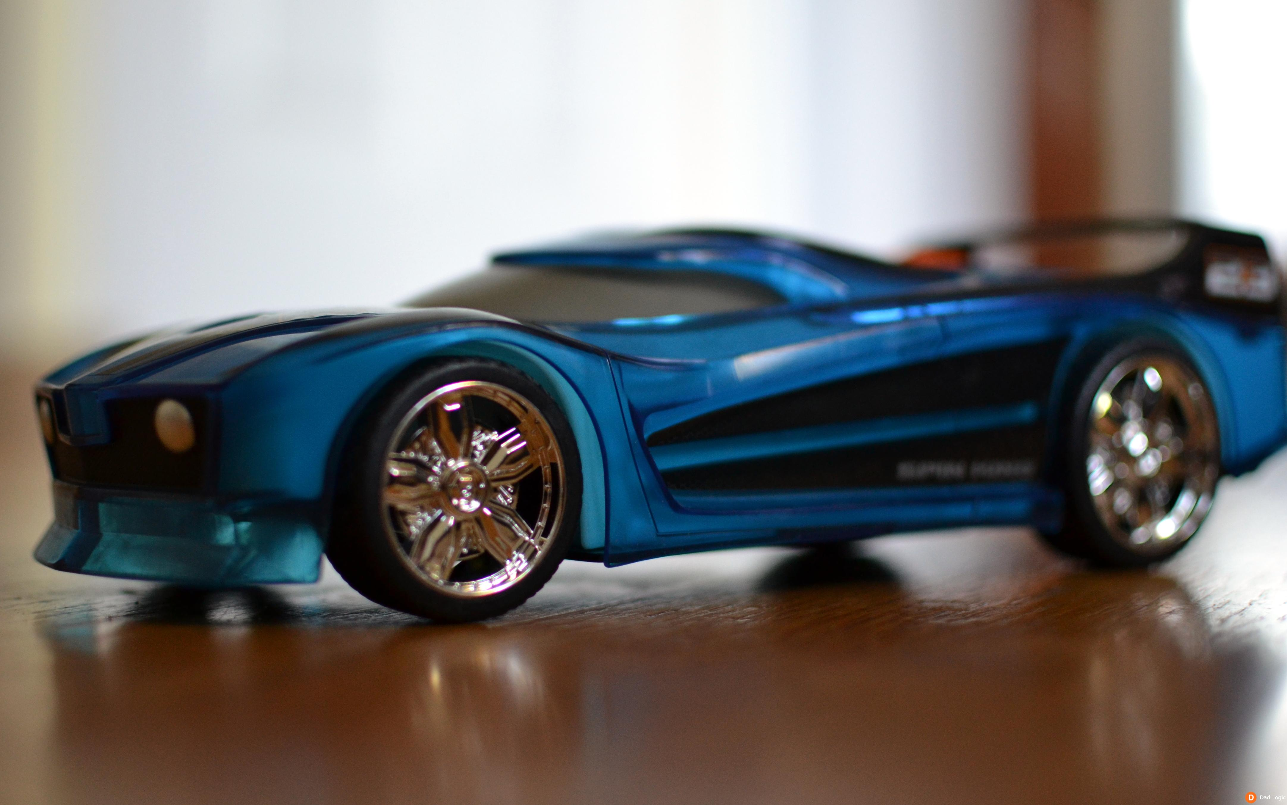Hot Wheels Toy Cars : Toy state hot wheels hyper racer light and sound spin king