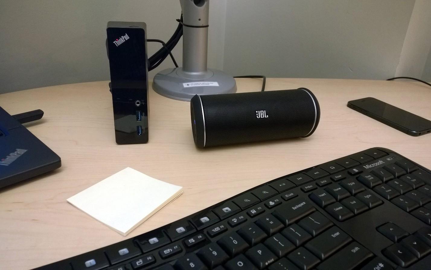 jbl flip 2 speakers are small but deliver big sound dad. Black Bedroom Furniture Sets. Home Design Ideas