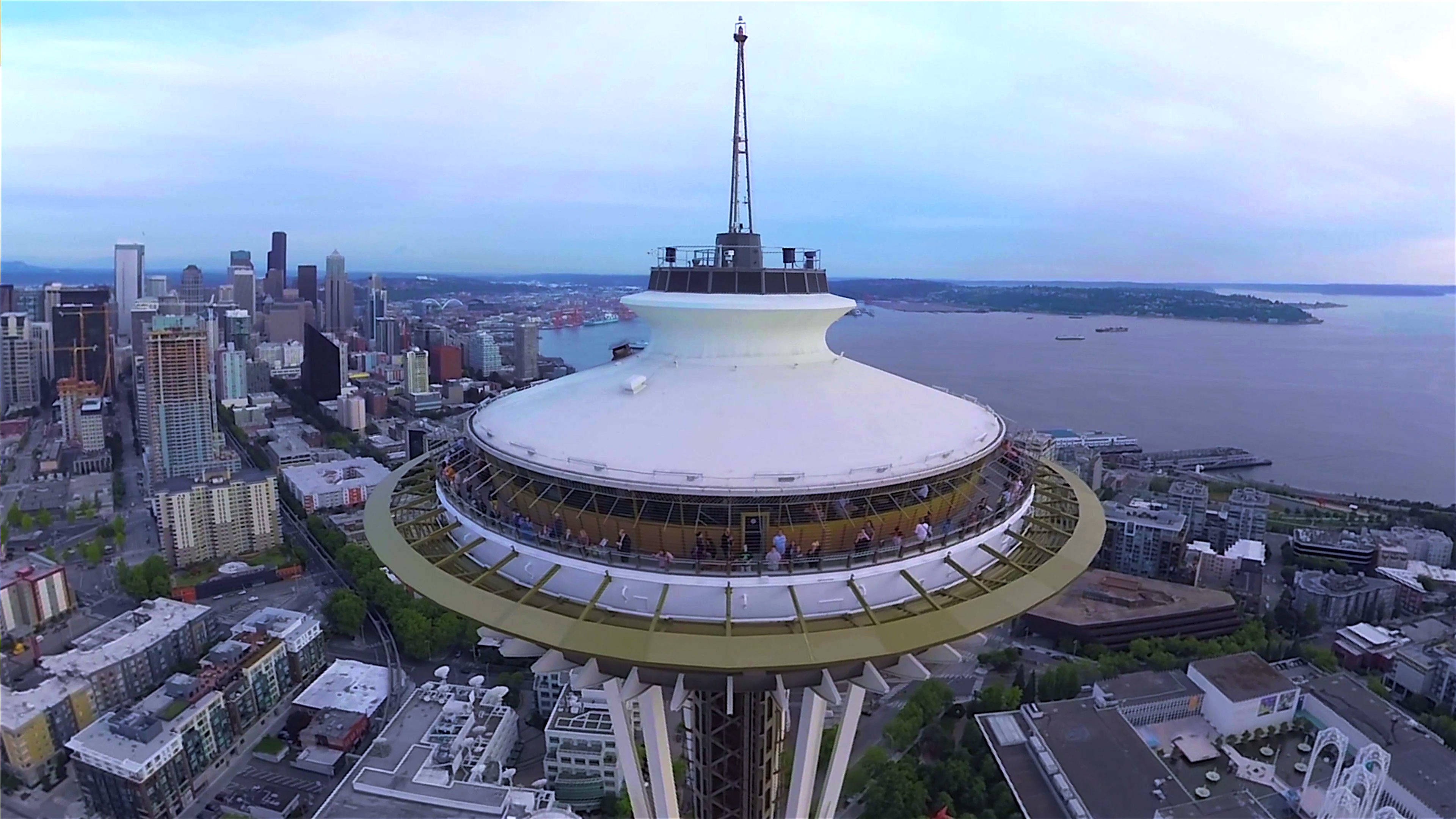 Want The View From The Seattle Space Needle Without
