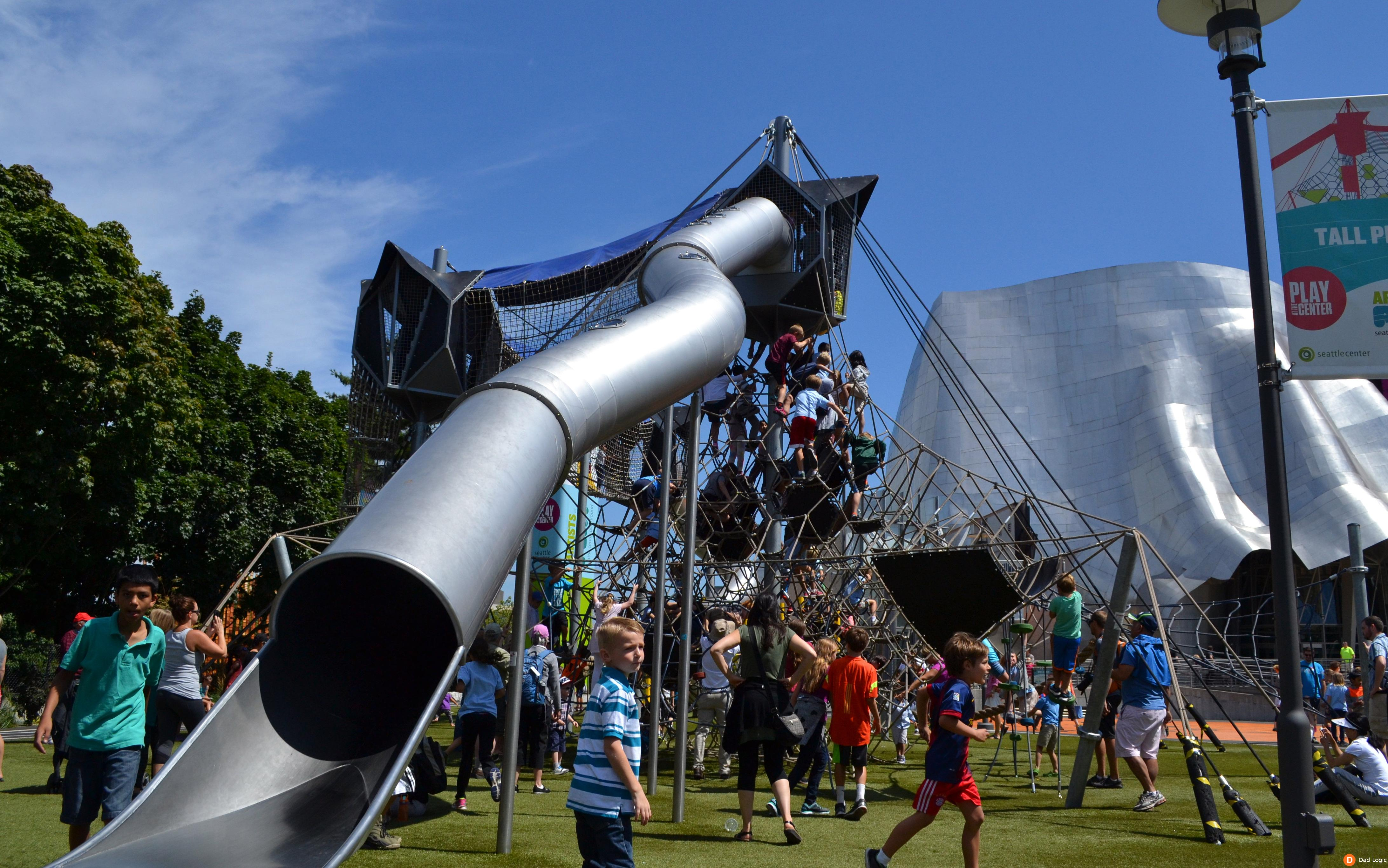 Let Your Child Be Wild At The New Seattle Center