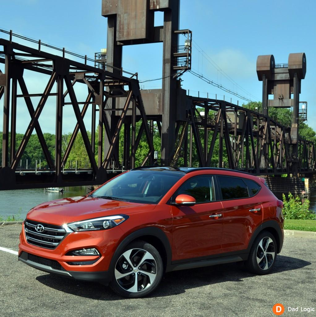 The 2016 Hyundai Tucson is a Stylish and Affordable Compact Crossover for Your Urban Adventures
