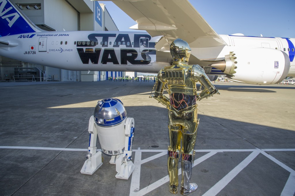 An R2-D2 Jet Plane? Check out this Star Wars Themed 787 Dreamliner