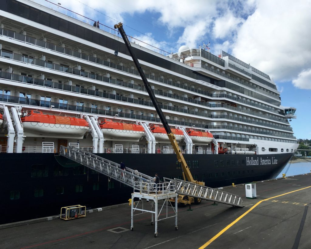 Setting Sail For Alaska On The Holland America Line Ms Nieuw - Holland new amsterdam cruise ship