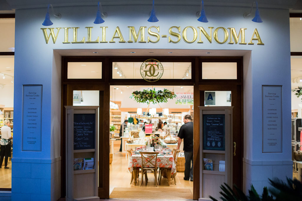 Williams Sonoma Opens New Store in Seattle Featuring Locally Crafted Foods