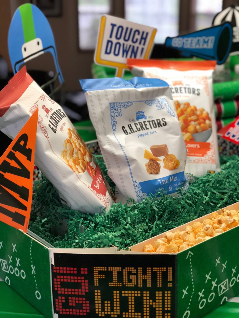 Celebrate the Big Game with G.H. Cretors Popped Corn