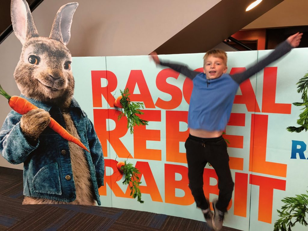 Peter Rabbit in 4DX is Like a Theme Park Ride and Movie All in One